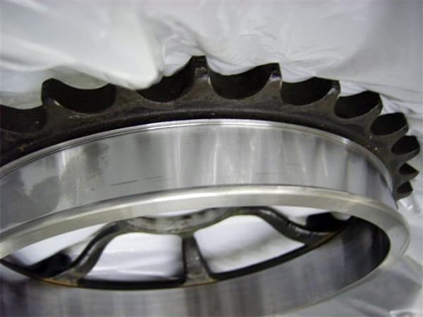 Gear Teeth Close-Up | T&L Engineering Bedford