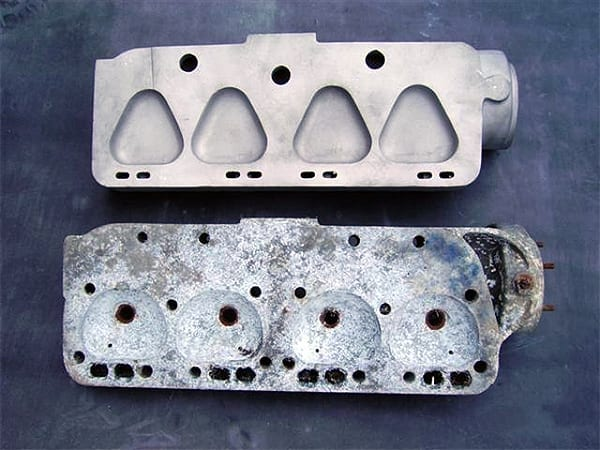 Cylinder Heads Before & After | T&L Engineering Bedford
